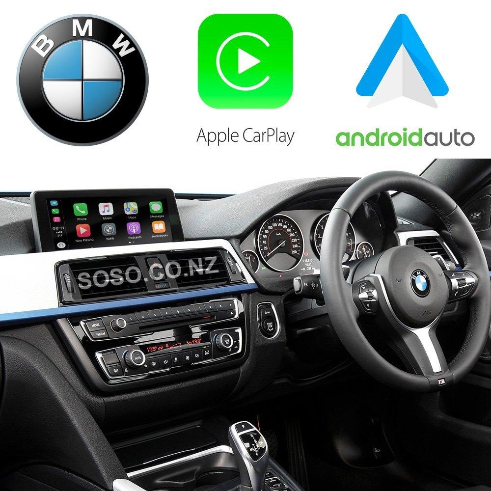 Auto Retrofit - BMW NBT (CIC-HIGH) iDrive Apple CarPlay & Android Auto Retrofit Kit (Wireless)