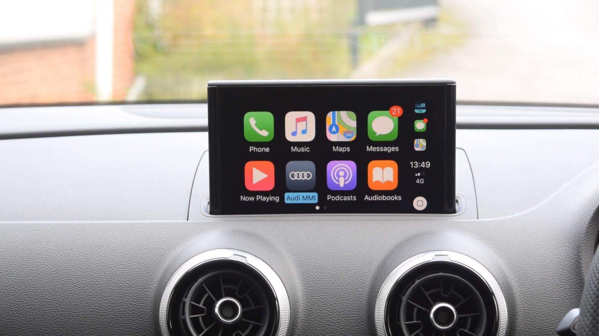 Auto Retrofit - AUDI A3 2013-2017 (8V) Retrofit CarPlay and Android Auto