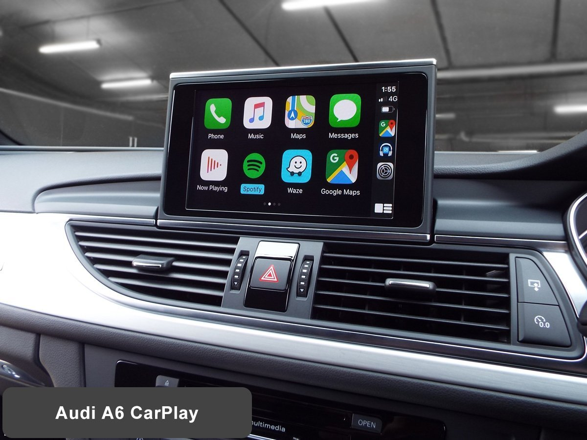 Auto Retrofit - Audi A6 with Wireless Apple CarPlay installed by Auto Retrofit