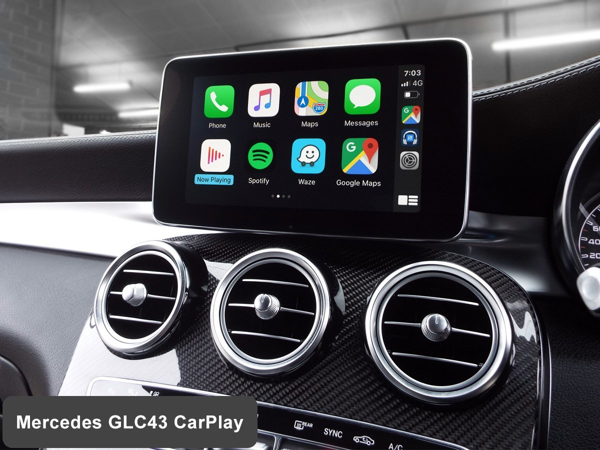 Auto Retrofit - Mercedes Benz GLC43 AMG with Wireless Apple CarPlay installed by Auto Retrofit