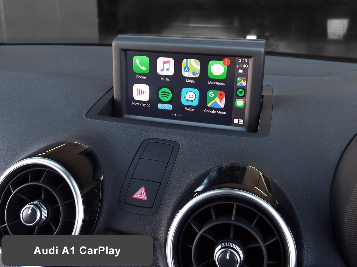 Auto Retrofit - Audi A1 with Wireless Apple CarPlay installed by Auto Retrofit