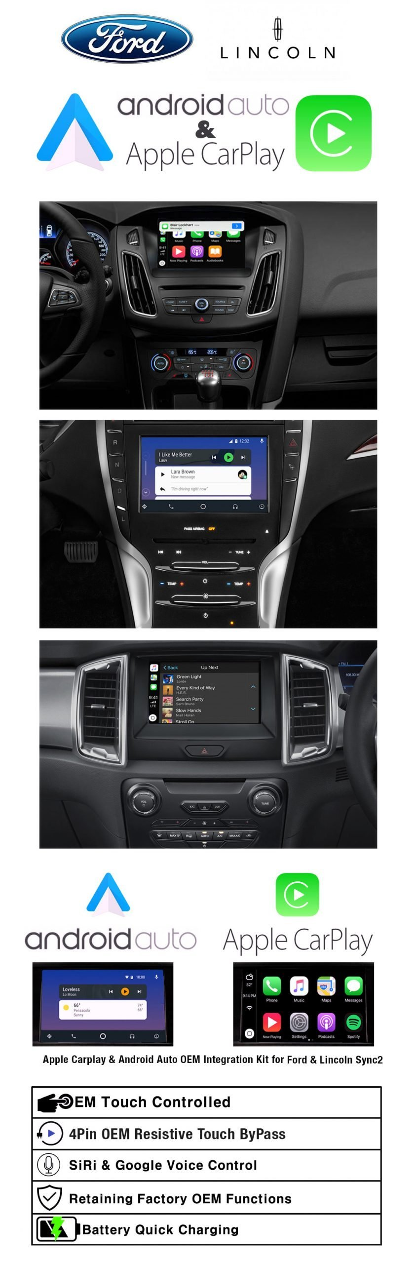 Ford Sync2 Apple Carplay