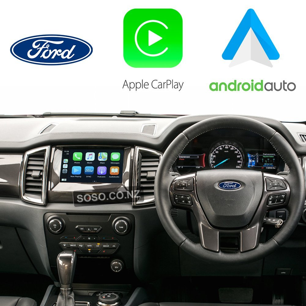 Ford SYNC2 MyFord Touch CarPlay