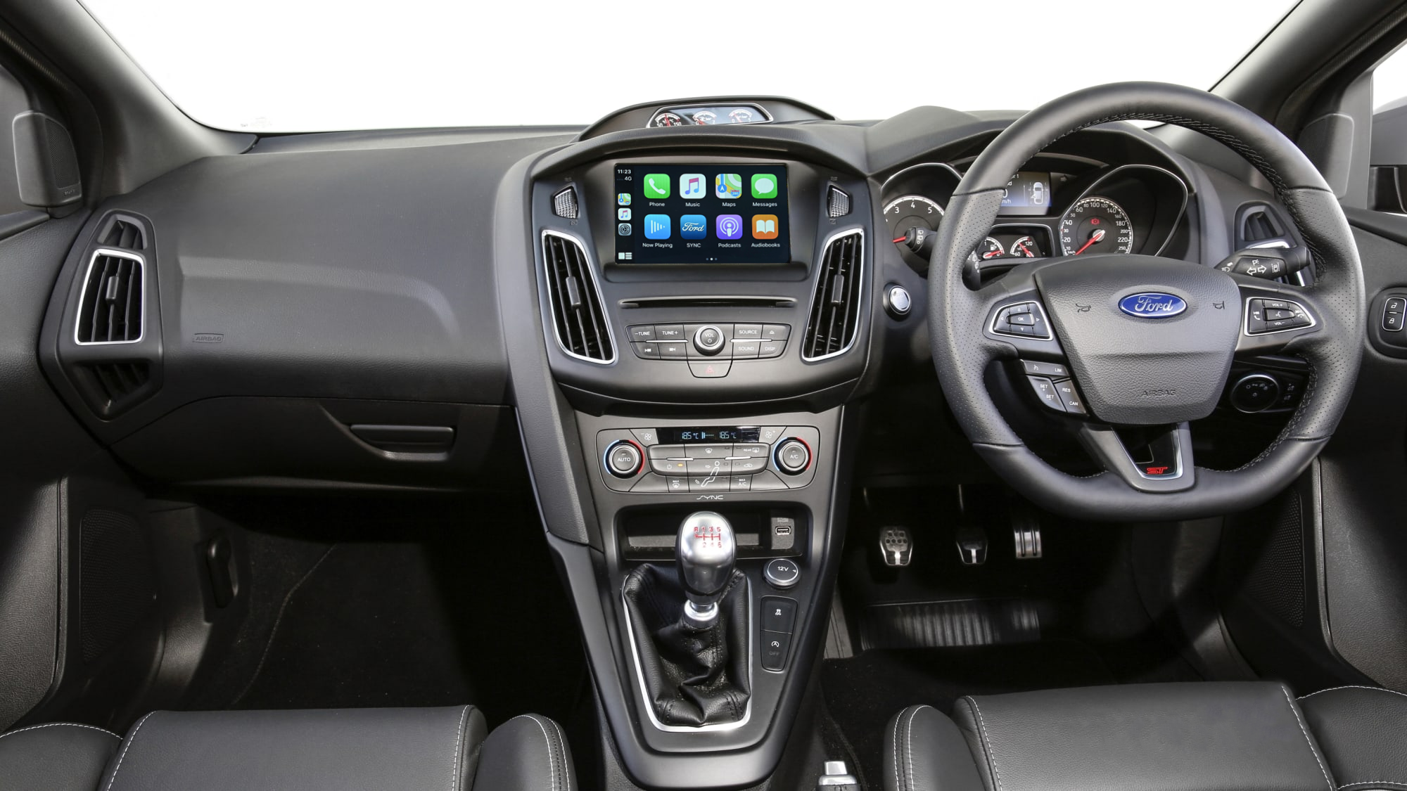 Auto Retrofit - Ford MyFord Touch Sync2 System Apple CarPlay & Android Auto Integration